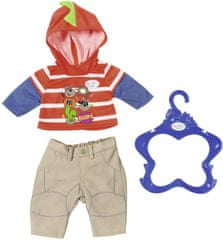 BABY born Oblečení na chlapečka oranžová mikina