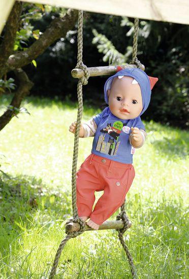 BABY born Oblečení na chlapečka modrá mikina