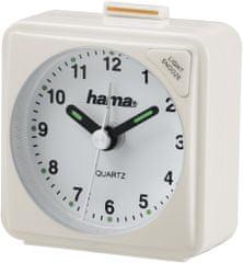 Hama Utazó ébresztőóra A50, fehér