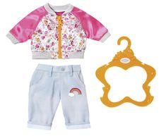 BABY born Rózsaszín kabát és nadrág 03cdd5f444