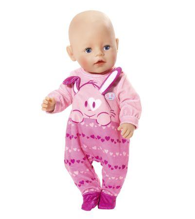 BABY born Rózsaszín bársonyrugdalózó 2018  b76fe6619b