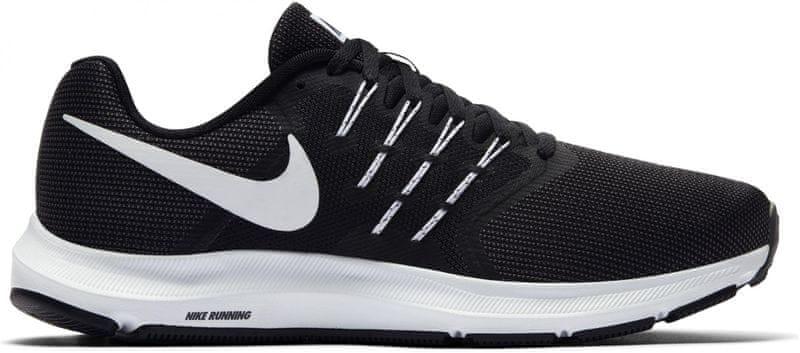 Nike Run Swift Running Shoe Black White-Dark Grey 44,5
