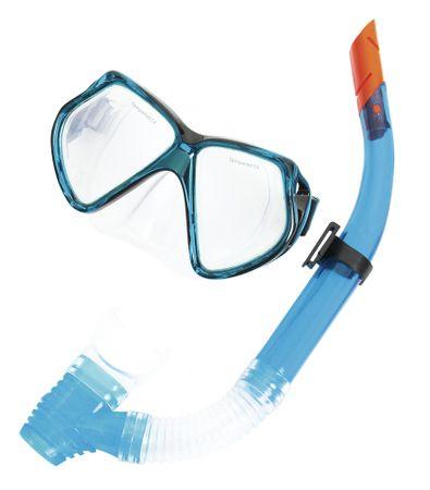 Bestway zestaw do nurkowania, okulary + rurka, niebieski
