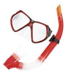Bestway set za potapljanje - očala + dihalka, rdeč