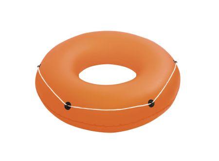 Bestway Nafukovací kruh Oranžový, průměr 1,19m