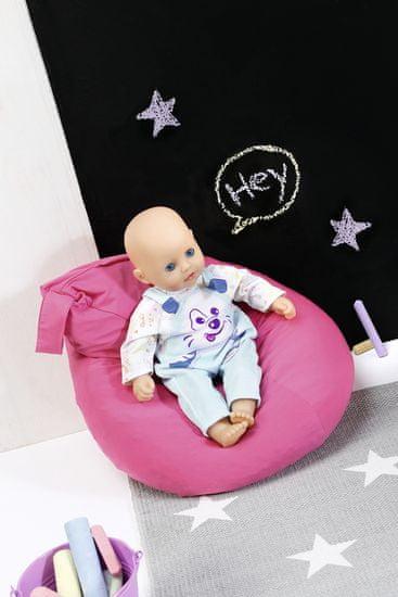 BABY born My Little Oblečení modré lacláče triko