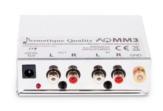 AQ przedwzmacniacz gramofonowy MM3