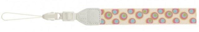 FujiFilm Instax Neck Strap White/Design dotes
