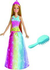 Mattel Barbie Dreamtopia hercegnő mágikus fésűvel