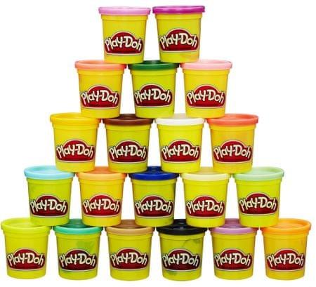 Play-Doh veliko pakiranje plastelina, 20 kosov