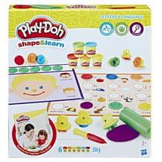 Play-Doh komplet za branje in pisanje, plastelin
