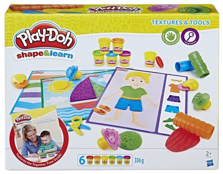 Play-Doh Textures&Tools