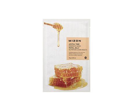 MIZON Plátýnková 3D maska s mateří kašičkou a medem pro výživu pleti Joyful Time (Essence Mask Royal Jelly
