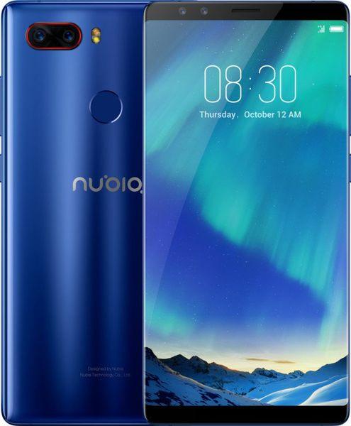 nubia Z17s, 8GB/128GB, Dual SIM, CZ LTE, Blue