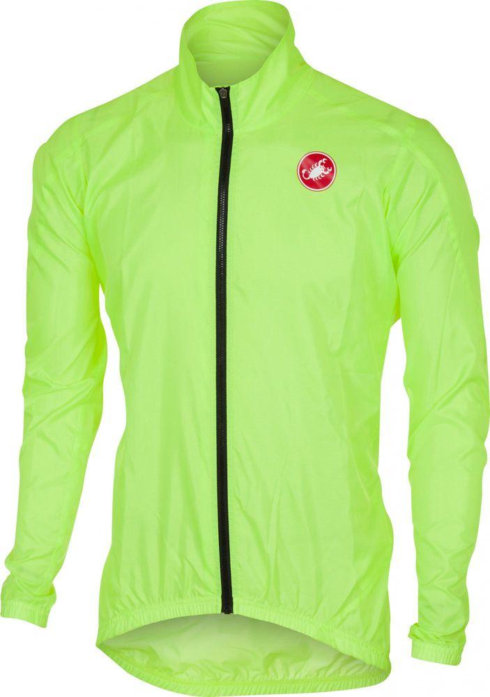 Castelli Squadra ER Jacket Yellow Fluo XL