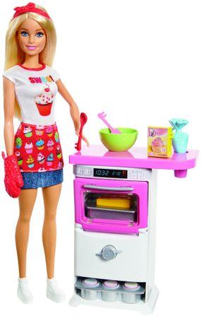 Mattel Barbie Zestaw do Gotowania i Pieczenia