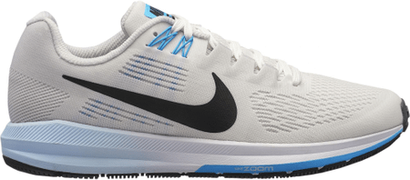 Nike tekaške superge Air Zoom Structure 21 Running Shoe Vast Grey Black-Sail-Equator Blue, 40