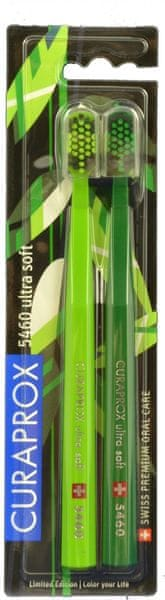 Curaprox 5460 Ultra Soft Green Edition 2 ks