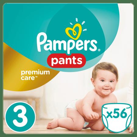 Pampers Pieluchomajtki Premium Care Pants 3 Midi - 56 szt