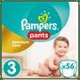 1 - Pampers Pieluchomajtki Premium Care Pants 3 Midi - 56 szt