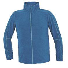 Cerva Westow pánska ľahká fleecová mikina modrá XXL