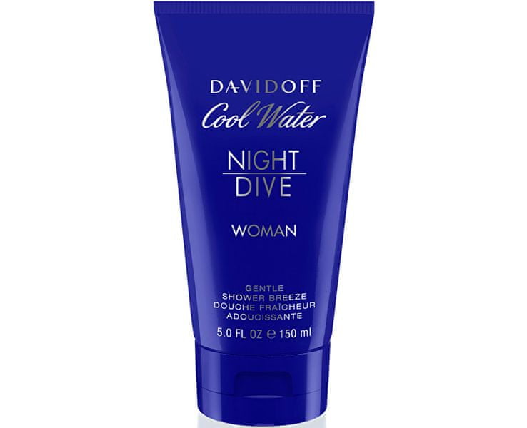 Davidoff Cool Water Night Dive For Women - sprchový gel 150 ml