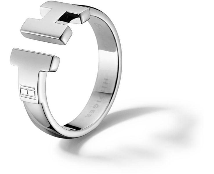 Tommy Hilfiger Luxusní ocelový prsten TH2700864 54 mm