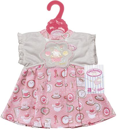 Baby Annabell różowa sukienka