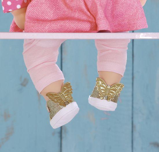 Baby Annabell Topánočky zlaté