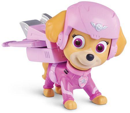 Spin Master Paw Patrol Figúrka s leteckými doplnkami Skye ružová