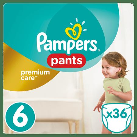 Pampers hlačne plenice Premium Pants 6 Extra Large, 36 kosov
