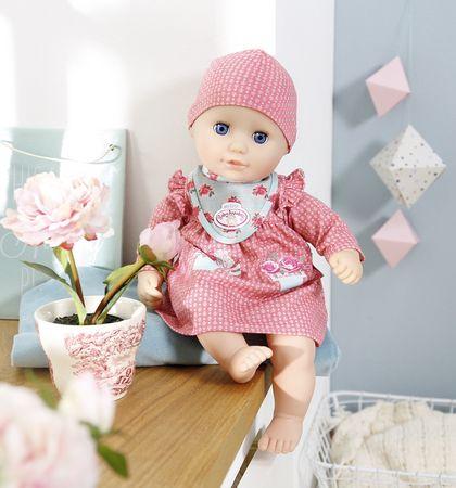 7e7864d8b1db Baby Annabell My First Pohodlné oblečenie červené šatôčky ...
