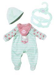 Baby Annabell My First Pohodlné oblečení tyrkysové dupačky