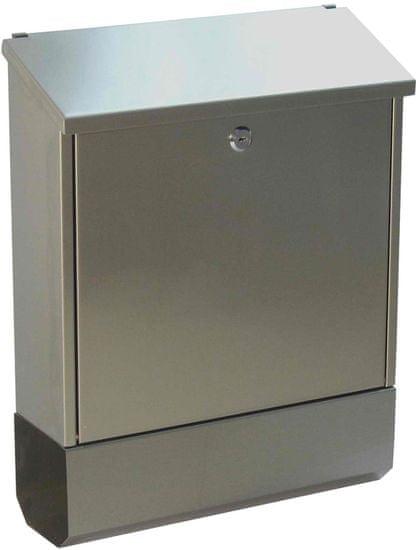 J.A.D. TOOLS Poštovní schránka nerezová TX0150B