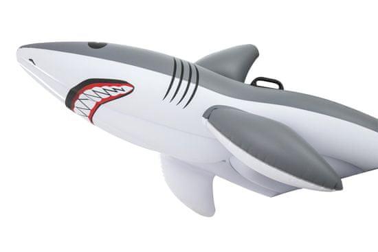 Bestway Nafukovací žralok s držadly 2,54m x 1,22m