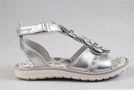 Primigi dekliški sandali, srebrni, 34