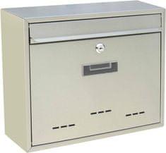 J.A.D. TOOLS Poštovní schránka nerezová TX0130