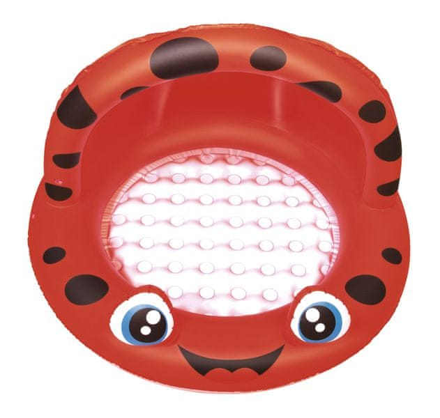 Bestway Nafukovací bazén se stříškou, Červený, průměr 97 cm x 66 cm