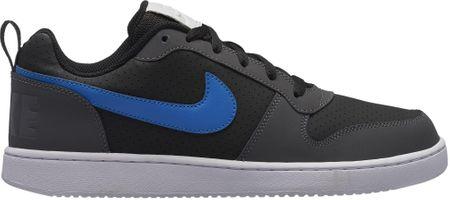 Nike buty Court Borough Low Shoe Black Blue Nebula-Dark Grey-White 42,5