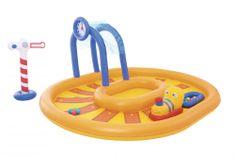 Bestway otroški bazen Železnica, 2,85 m x 2,24 m x 1,19 m