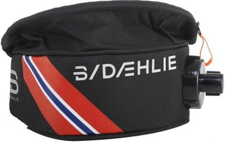 Bjorn Daehlie Pas Biodrowy Drinkbelt Cross Flag 1 L black