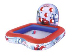Bestway napihljiv igralni center z bazenom Spiderman, 1,55 m x 1,55 m x 99 cm