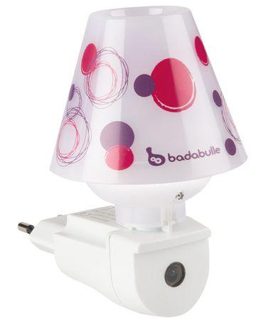 Badabulle automatyczna lampka nocna Pink