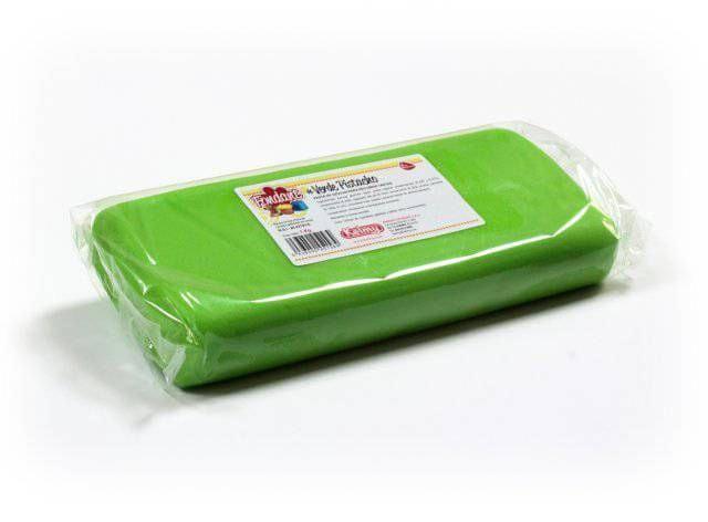 Kelmy Potahovací hmota 1 Kg - pistáciová zelená