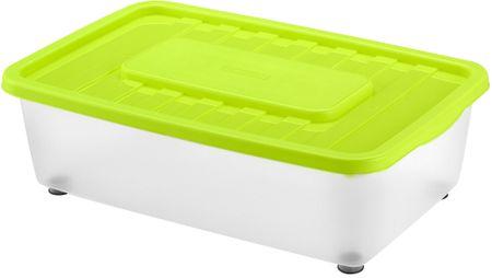 Heidrun škatla za shranjevanje pod posteljo 25 l, zelena
