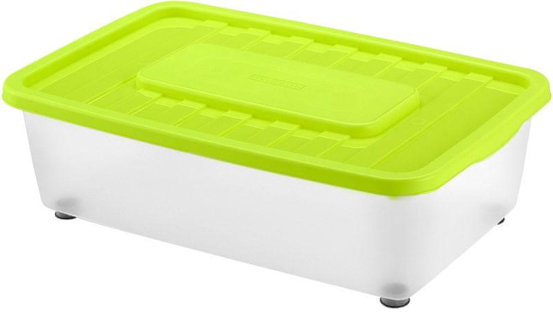 Heidrun Box úložný pod postel 25 l, zelená