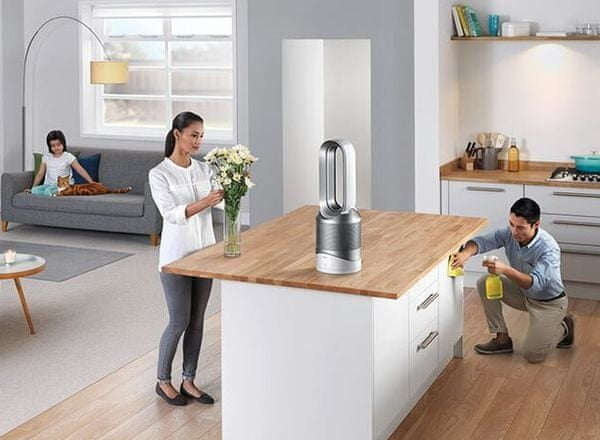 Dyson Pure Hot + Cool s HEPA filtrem