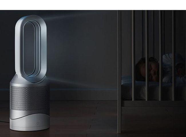 Čistička vzduchu Dyson Pure Hot + Cool nízká hlučnost