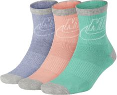 Nike Sportswear Striped Low Crew Socks (3 Pairs)