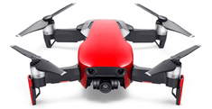 DJI dron Mavic Air Fly More Combo, Flame Red